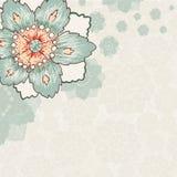Fondo de la flor del vintage Fotografía de archivo libre de regalías