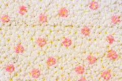 Fondo de la flor para el día de boda para la tarjeta del día de San Valentín Foto de archivo libre de regalías