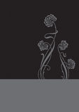 Fondo de la flor (vector) Imágenes de archivo libres de regalías