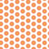 Fondo de la forma de la flor de círculos Foto de archivo libre de regalías