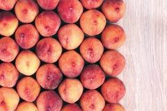 Fondo de la fruta del melocotón, comida sana del vegano Imagen de archivo