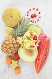 Fondo de la fruta del verano Imagen de archivo libre de regalías