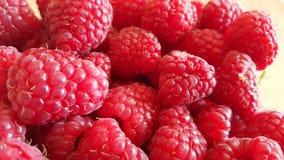 Fondo de la fruta de la frambuesa Imagen de archivo