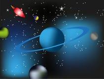 Fondo de la galaxia del espacio Imagen de archivo libre de regalías