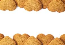 Fondo de la galleta de Copyspace Imagen de archivo libre de regalías