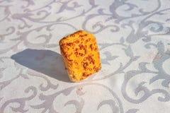 Fondo de la galleta del sésamo Imagen de archivo libre de regalías