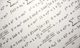 Fondo de la geometría de la matemáticas Foto de archivo libre de regalías