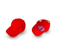 Fondo de la gorra de béisbol Fotografía de archivo libre de regalías