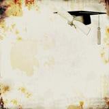 Fondo de la graduación de Grunge Imagenes de archivo