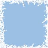 Fondo de la helada del invierno ilustración del vector