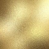 Fondo de la hoja de oro con reflejos de luz libre illustration