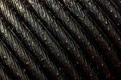 Fondo de la honda de la cuerda de la textura Foto de archivo libre de regalías
