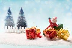 Fondo de la idea del concepto de la Navidad Fotos de archivo libres de regalías