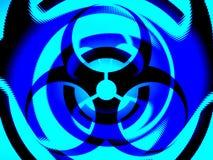 Fondo de la ilustración de Biohazard Fotos de archivo