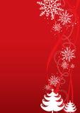 Fondo de la ilustración de la Navidad/del Año Nuevo ilustración del vector