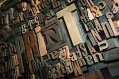 Fondo de la impresión en madera Imagen de archivo libre de regalías
