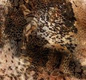 Fondo de la impresión de la materia textil de la piel de serpiente fotos de archivo