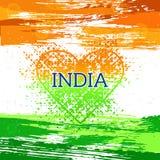 Fondo de la India del Día de la Independencia modelo ilustración del vector