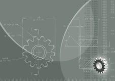Fondo de la ingeniería libre illustration