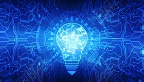 Fondo de la innovación, concepto creativo de la idea, fondo del concepto de la inteligencia artificial foto de archivo libre de regalías