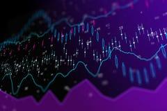Fondo de la inversión y de la tecnología stock de ilustración