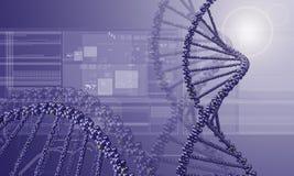 Fondo de la investigación de la DNA libre illustration
