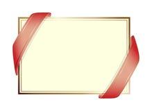 Fondo de la invitación Imágenes de archivo libres de regalías
