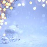 Fondo de la invitación de Art Christmas Fotografía de archivo libre de regalías