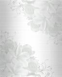 Fondo de la invitación de la boda stock de ilustración