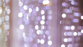 Fondo de la lámpara cristalina Cristales clásicos grandes almacen de metraje de vídeo