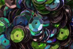 Fondo de la lentejuela multicolor Imagen de archivo libre de regalías