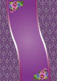 Fondo de la lila Fotografía de archivo