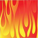 Fondo de la llama del fuego Imagen de archivo libre de regalías