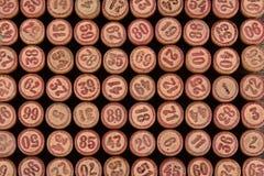 Fondo de la loteria del vintage Imagen de archivo