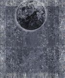 Fondo de la luna de la fantasía del KRW Imágenes de archivo libres de regalías
