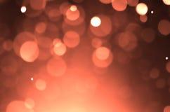 Fondo de la luz del efecto de Bokeh Fotos de archivo libres de regalías