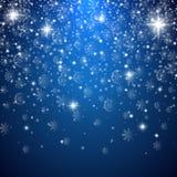Fondo de la luz de la Feliz Navidad stock de ilustración