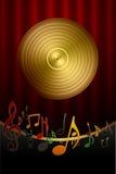 Fondo de la música Imagen de archivo