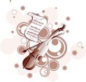 Fondo de la música Imagen de archivo libre de regalías