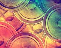 Fondo de la música Foto de archivo libre de regalías