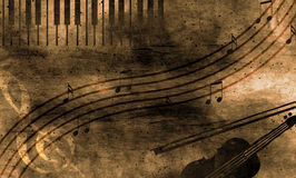 Fondo de la música de Grunge imagen de archivo