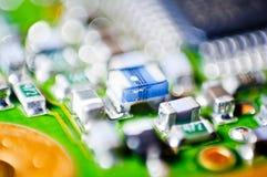 Fondo de la macro de la tarjeta de circuitos Foto de archivo