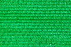 Fondo de la malla plástica verde Imágenes de archivo libres de regalías