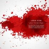 fondo de la mancha de la salpicadura de la sangre del vector libre illustration