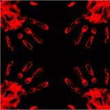 fondo de la mano de la sangre Libre Illustration