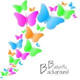Fondo de la mariposa stock de ilustración