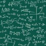 Fondo de la matemáticas Foto de archivo libre de regalías