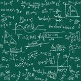 Fondo de la matemáticas Imagen de archivo libre de regalías