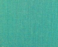 Fondo de la materia textil natural texturizada de la turquesa fotos de archivo libres de regalías