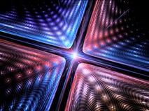 Fondo de la mecánica cuántica Imágenes de archivo libres de regalías